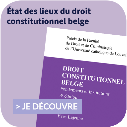 Droit constitutionnel belge